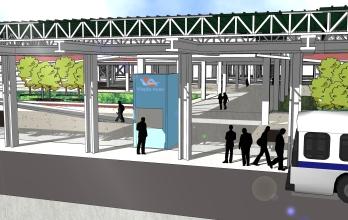Terminal de ônibus integrado