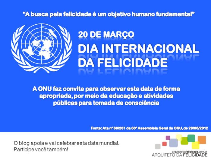 ONU Felicidade