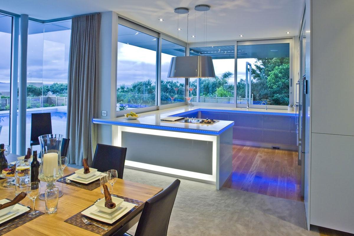 Cozinhas modernas arquitetos da FELICIDADE #2E619D 1200 800