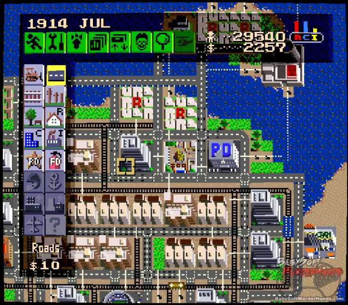 SimCity-SNES-review