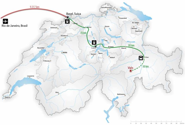 Viagem ao interior da Suiça - Fonte: Marcio Costa