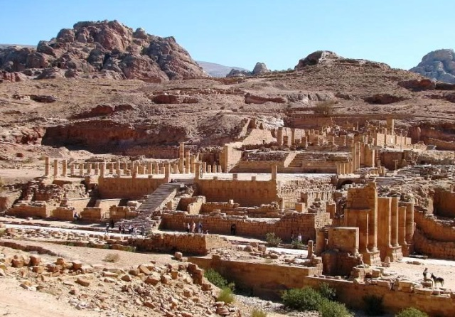 Petra in Jordan tourism destinations