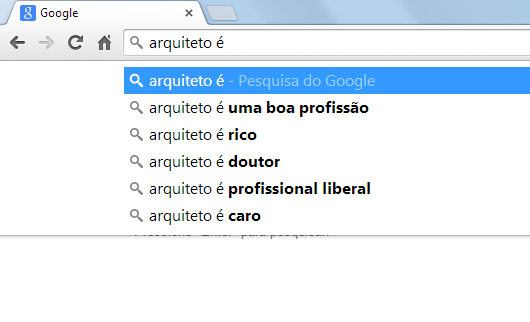 google arquiteto