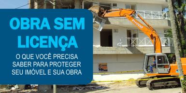 Obra sem licença iptu 2016 prefeitura rio de janeiro demolição